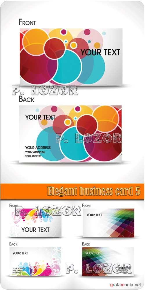 Elegant business card 5