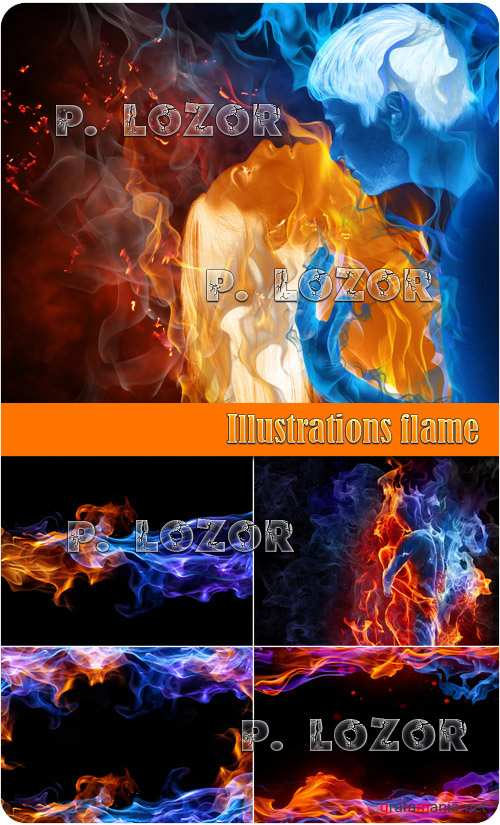 Illustrations flame