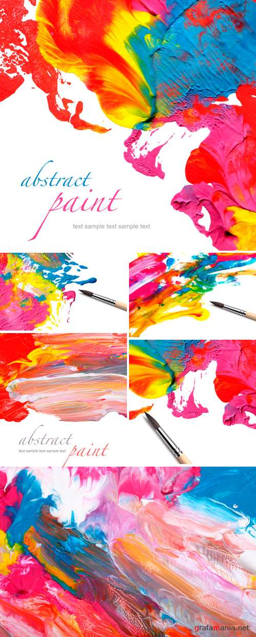Stock Photo - Abstract Paint