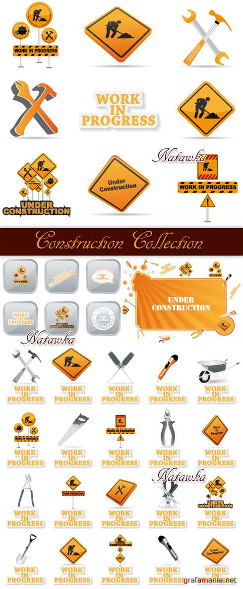 Under Construction Collection - Stock Vectors