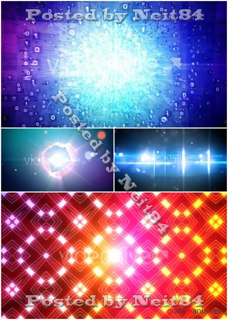 VideoHive motion Light  Effect Abstract Background pack 8
