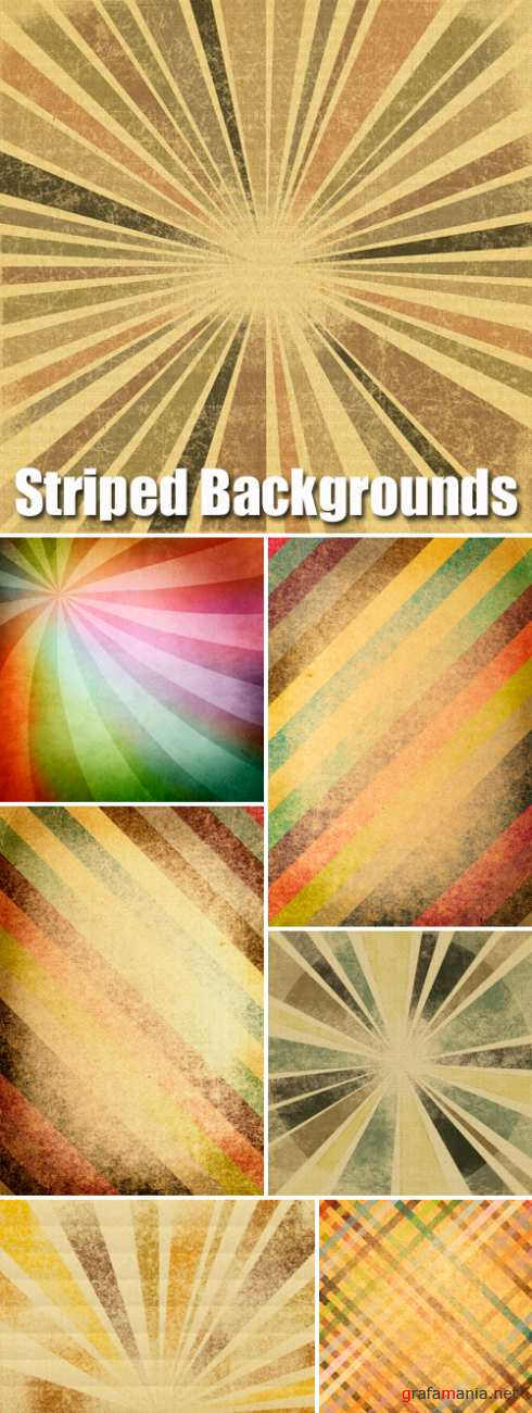 Stock Photo - Vintage Striped Textures