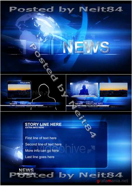 After Effect Project Broadcast Design News Package 126180