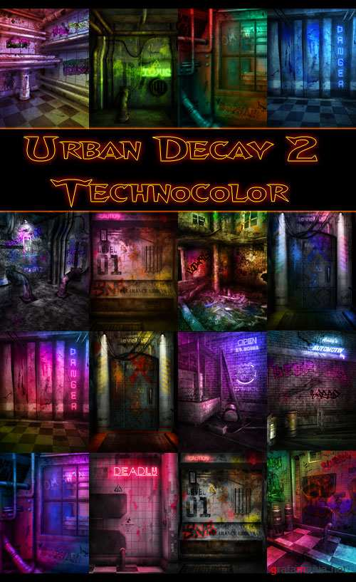 Urban Decay 2 Technocolor