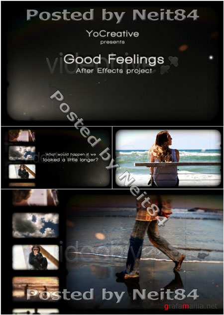 After Effect Project Good Feelings 123999