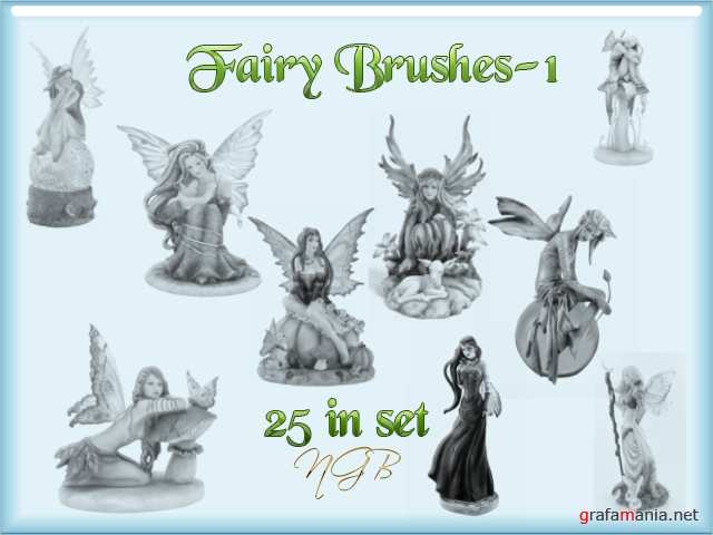 Кисти - феи / fairytales brushes