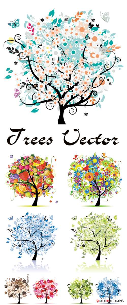 Trees Vector 3
