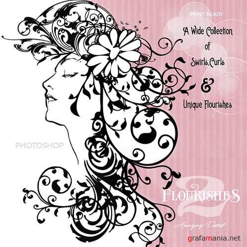 651 High-Resolution Photoshop Brushes of swirls, curls & twirls for the Photoshop user.
