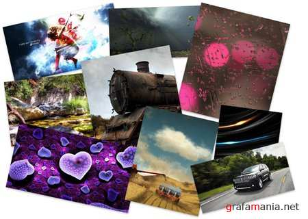 45 Incredible Mixed Colourful HQ Fine Wallpapers