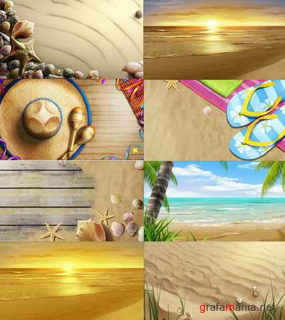 PSD Layered Pictures - Vacation