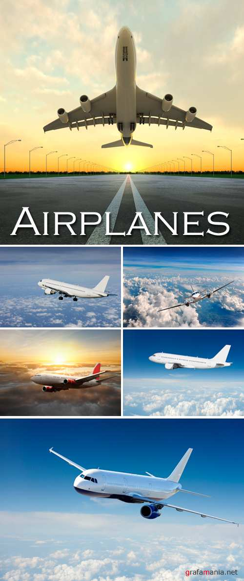 Stock Photo - Airplanes, Aircrafts
