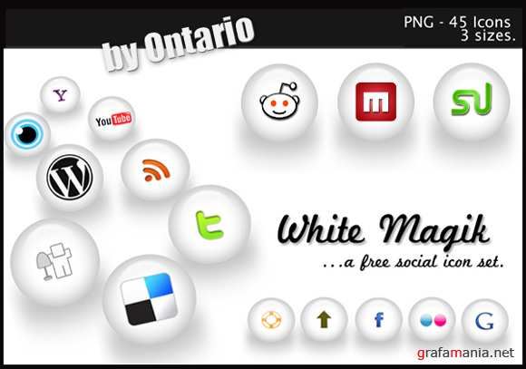 White Magic Social Icons