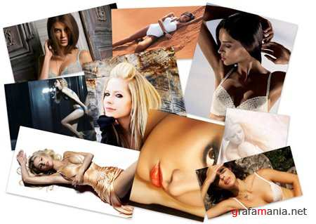 40 Perfect Women Color HQ Fine Wallpapers