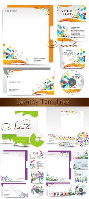 Identity Template - vector