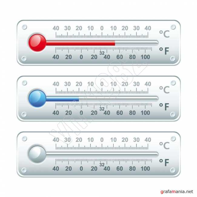 Horizontal thermometers | Горизонтальный термометр