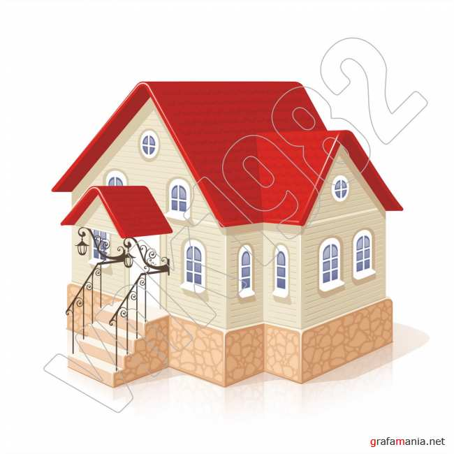 Cottage vector | ��� ������