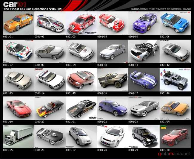 The Final CG Car Collection vol 1