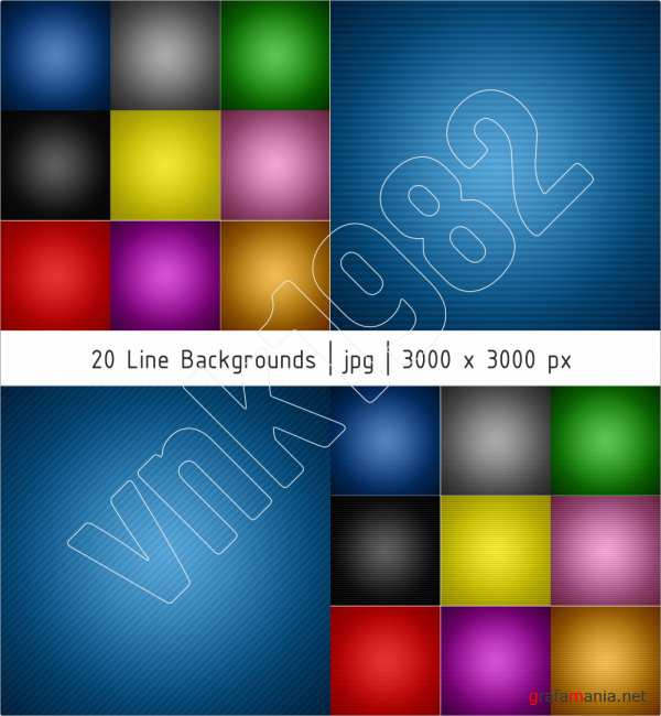 20 Line Backgrounds