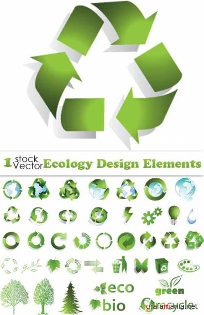 Ecology Design Elements Vector
