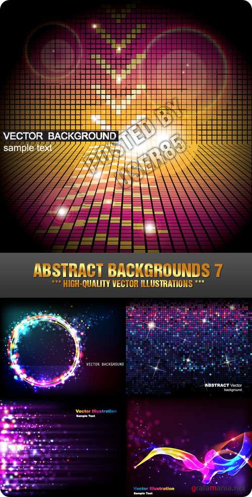 Stock Vector - Abstract Backgrounds 7