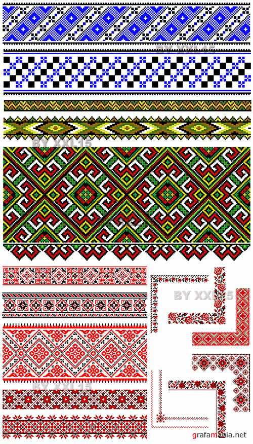 Ethnic embroidery ornaments 3