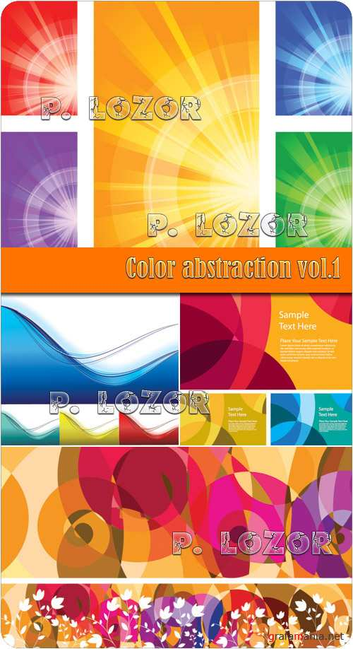 Color abstraction vol.1