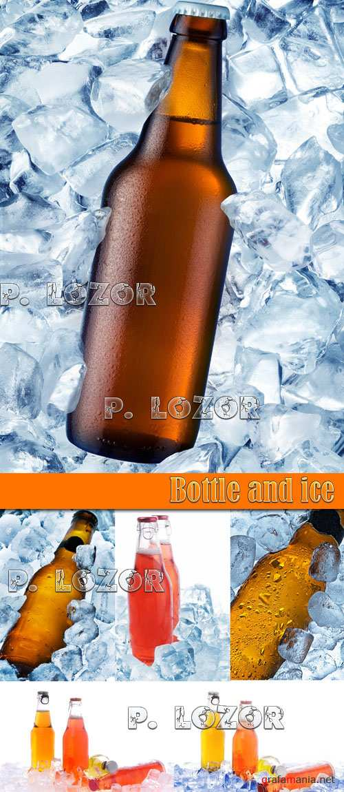 Bottle and ice