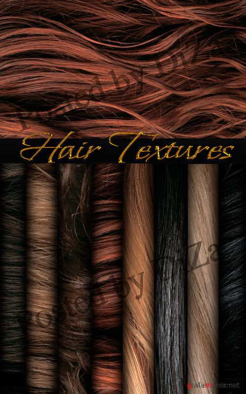 Exclusive hair textures