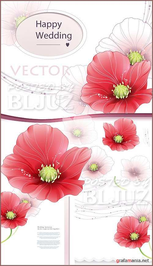 Happy Wedding Vector
