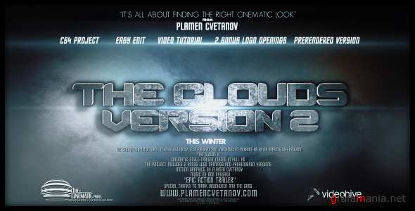 VideoHive.The Clouds 2 (Two Bonus Logo Reveals).159284