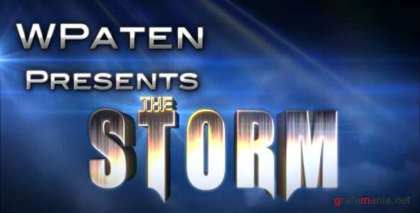 VideoHive.The Storm - Epic Movie Trailer.125165