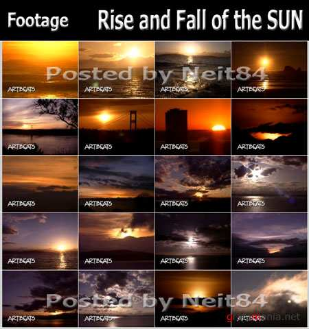 Footage Rise and Fall of the SUN