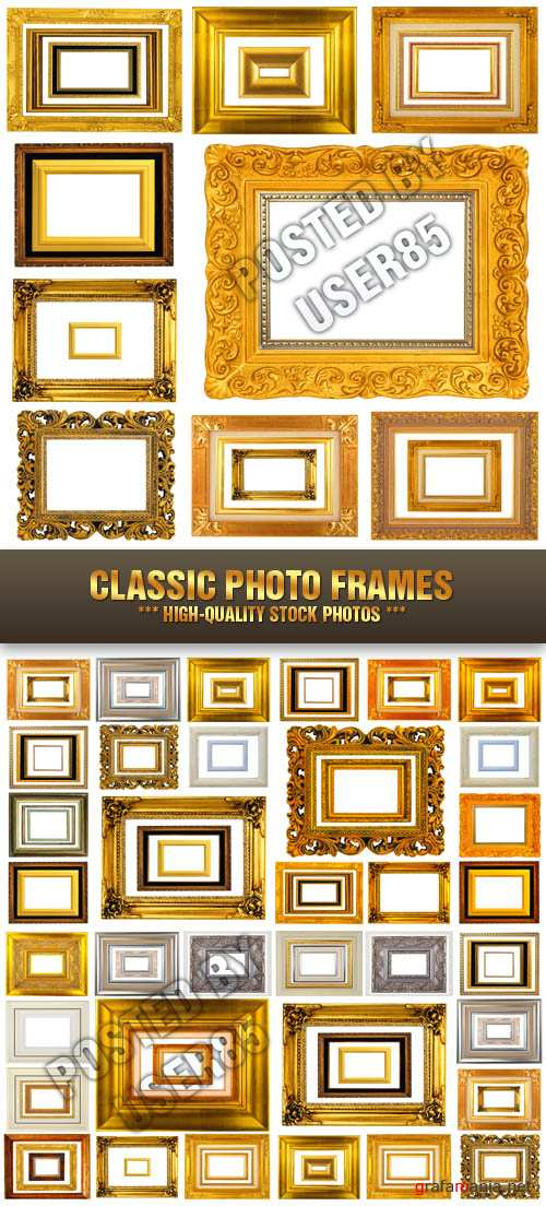 Stock Photo - Classic Photo Frames