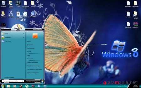 Windows 8 Work in progress Theme for Windows 7