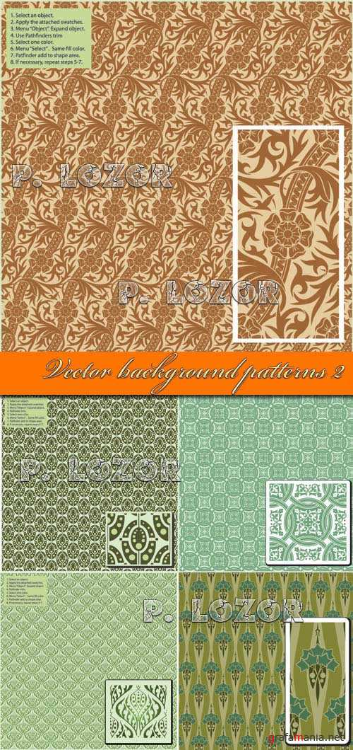 Vector background patterns 2
