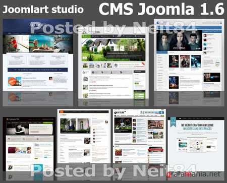 Joomlart studio Templates for CMS Joomla 1.6