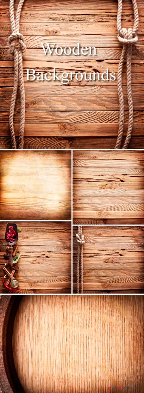 Stock Photo - Wooden Backgrounds 2