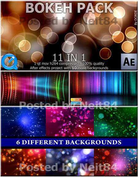 Footage motion Neon coloful effect background P9