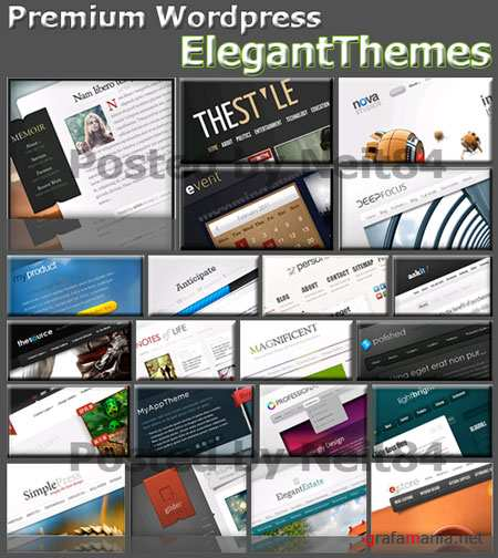 Template Premium of ElegantThemes Wordpress themes Collection New Pack 2011