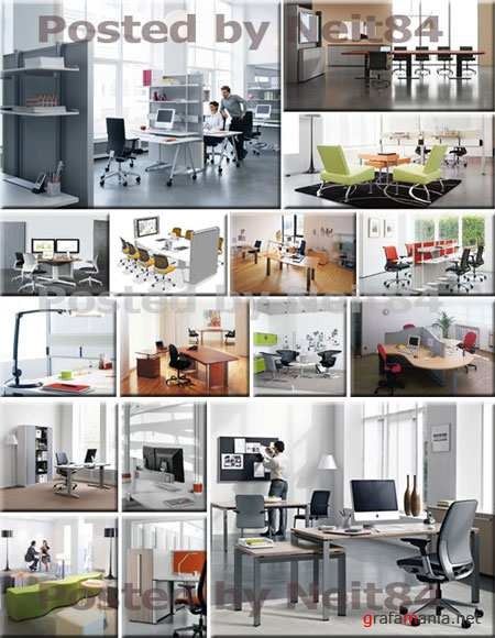 3D models Steelcase Furniture Factory