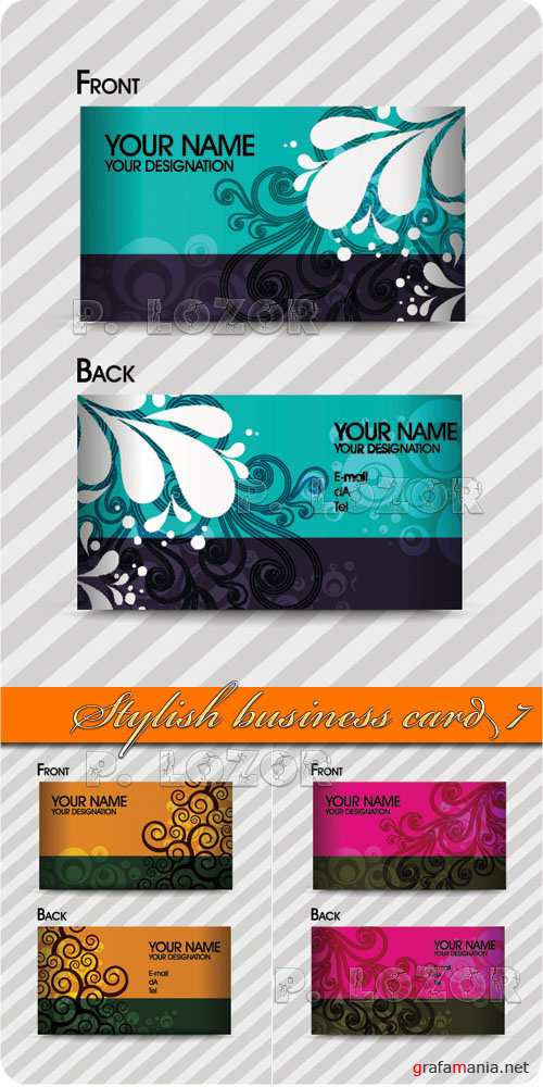 Stylish business card 7
