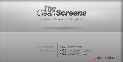 VideoHive.Clean Screens.115739
