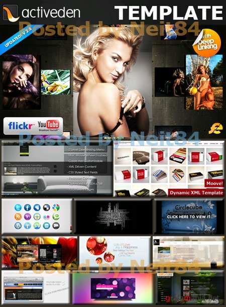 Activeden Templates and Flash animation for Web Design P1 2011