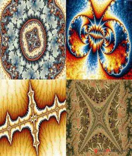 Collection fractal backgrounds