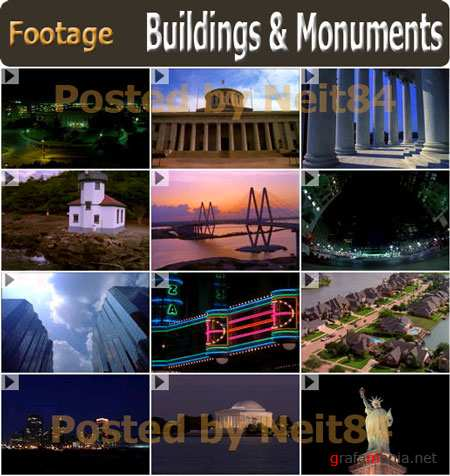 Footage Eyewire Buildings and Monuments NTSC