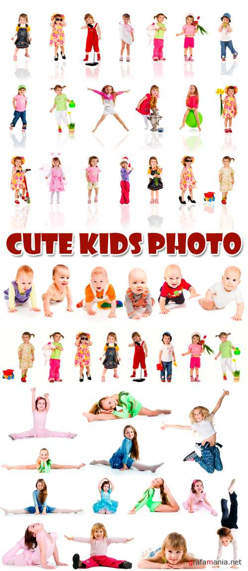 Stock Photo - Cute Kids