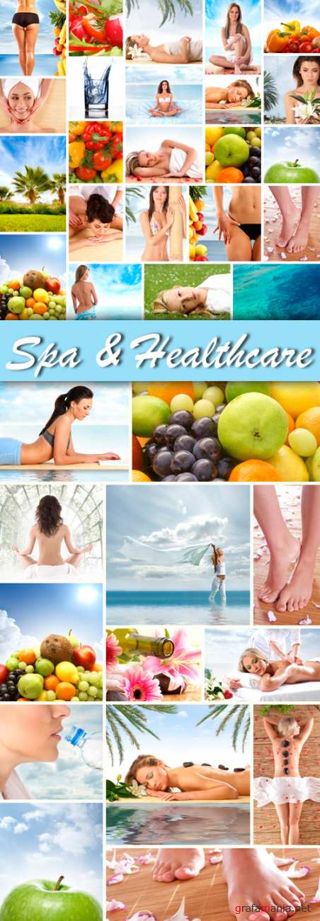 Stock Photo - Spa and Healthcare