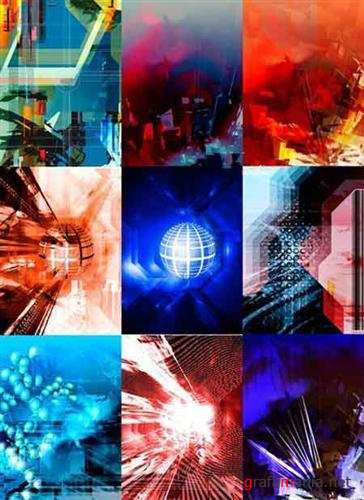 Technological abstract backgrounds