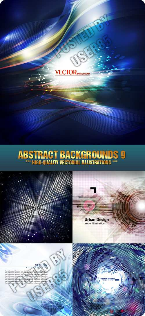 Stock Vector - Abstract Backgrounds 9