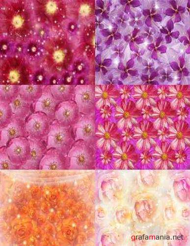 Delicate Floral Backgrounds